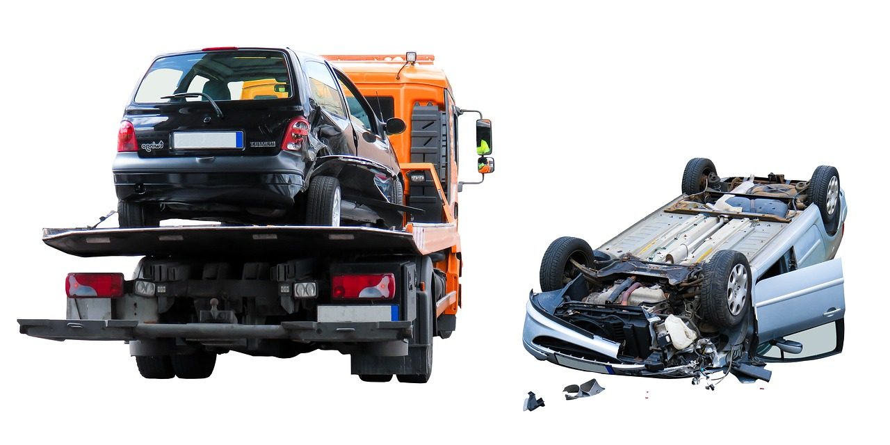 Zepsuty samochód w Niemczech